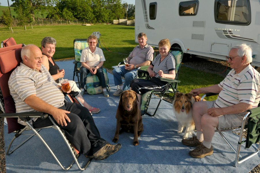 Foresterseat Caravan Park Setting